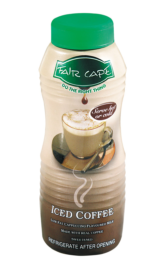 Iced coffee low fat cappuccino by Fair Cape