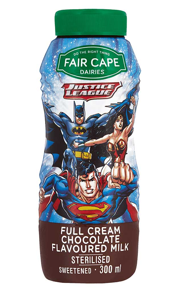Justice league Chocolate Flavoured Milk 300ml