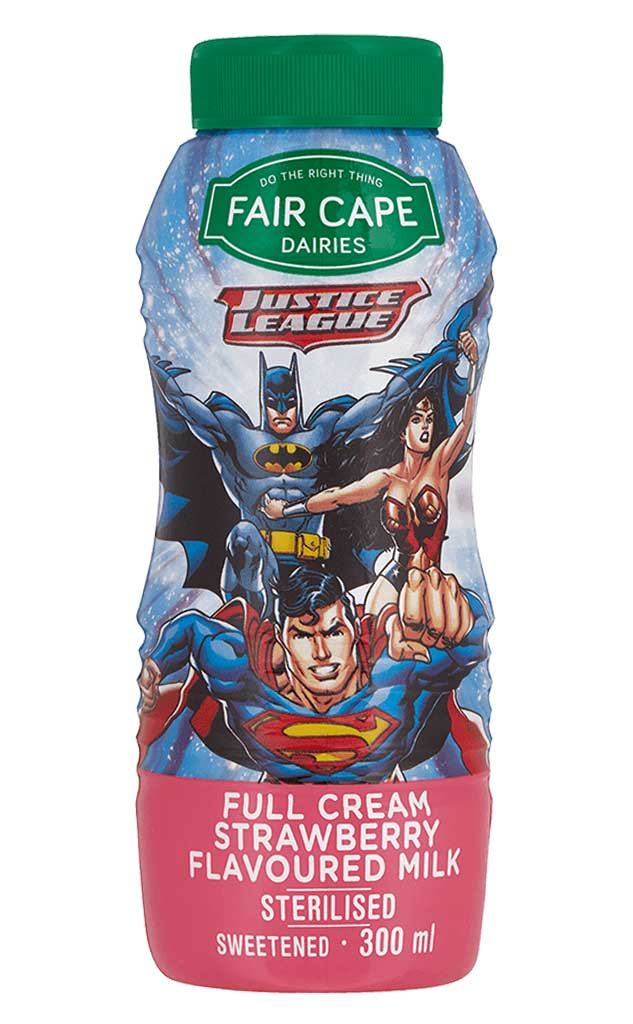 Justice League Strawberry Milk 300ml