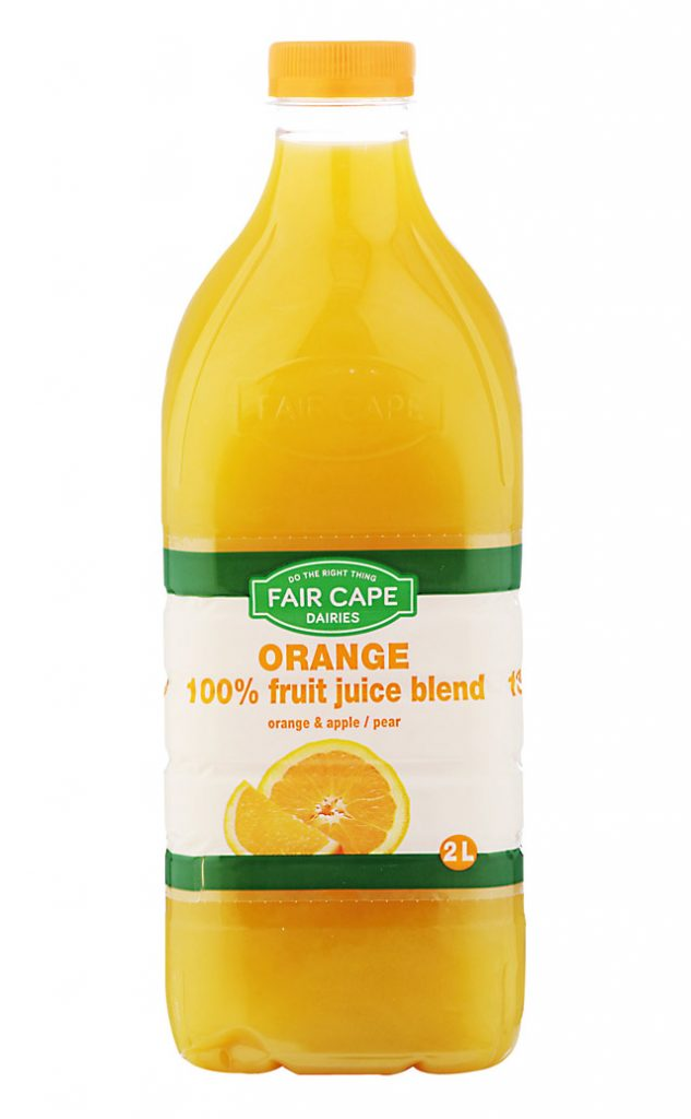 Orange juice by Fair Cape