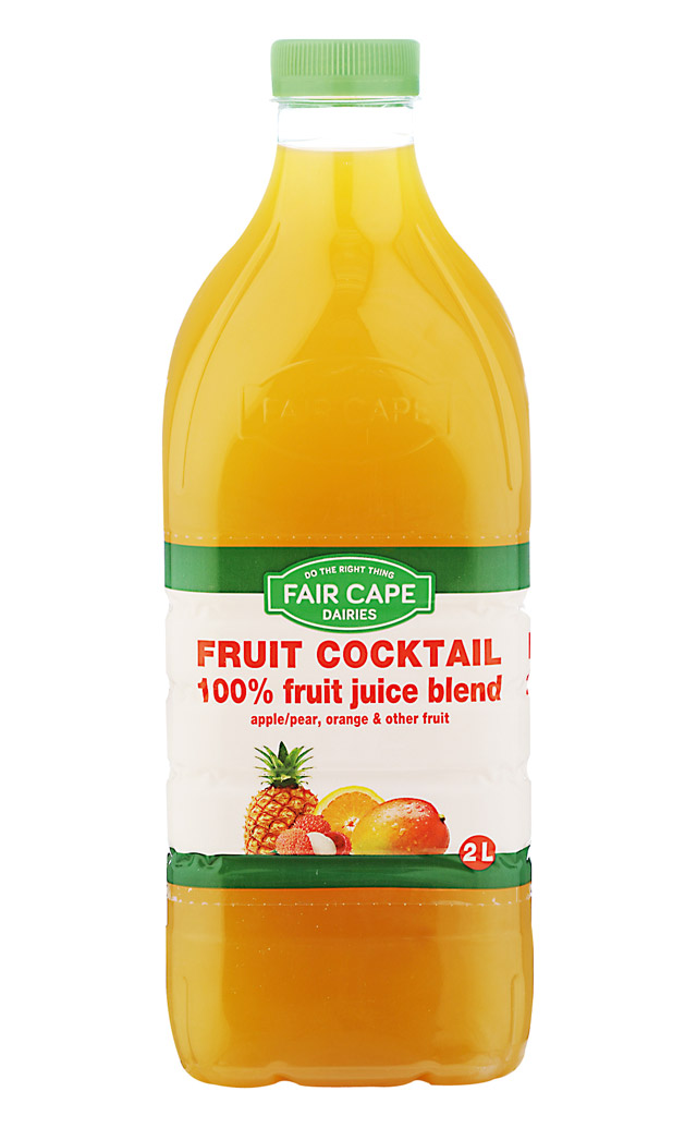 Fruit cocktail juice 100% fruit Juice by Fair Cape