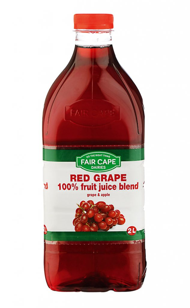 Red grape juice 100% juice blend