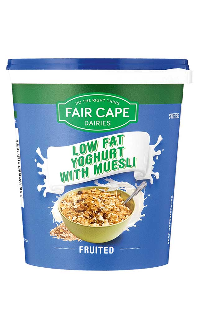 Low fat muesli yoghurt by Fair Cape