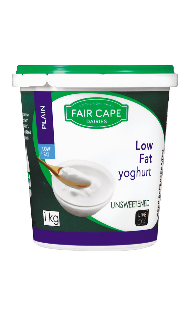 Low fat yoghurt by Fair Cape