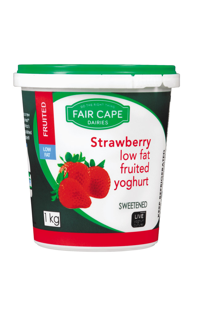 Strawberry yoghurt low fat by Fair Cape