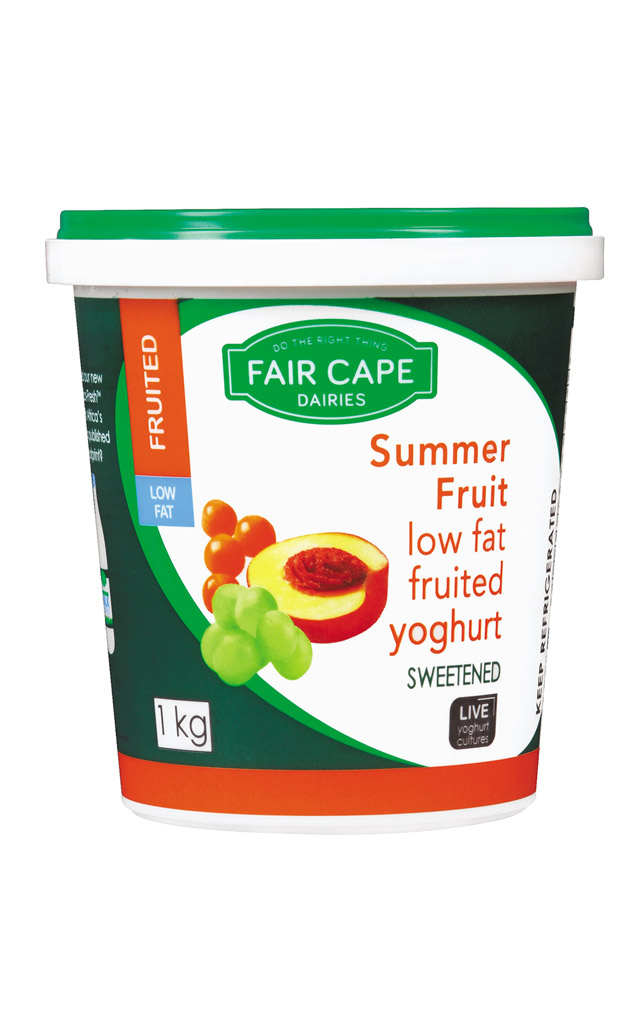 Low fat summer fruit yoghurt by Fair Cape