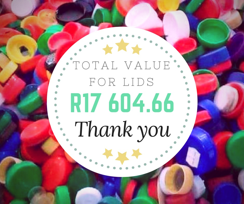 Value of bottle caps collected